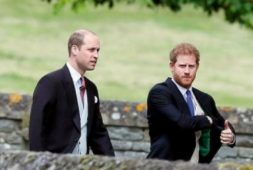 Príncipe William bromea sobre la próxima boda de su hermano Príncipe Harry