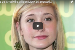 La actriz de 'Smallville' Allison Mack es arrestada por conexión con secta sexual
