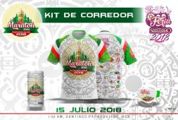 Kit del medio maratón en SP