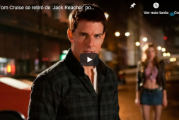 Tom Cruise se retiró de Jack Reacher por no ser lo suficientemente alto (+video)