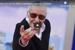 Stan Lee creó un último superhéroe antes de su muerte (+video)