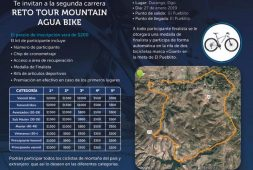 "CAED  invita a participar en la carrera ""Reto, Tour Mountain Agua  Bike"""