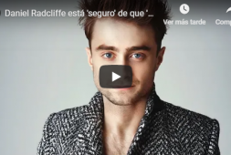 Daniel Radcliffe está seguro de que Harry Potter tendrá remake (+video)