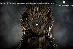 Game of Thrones lanza un desafío para encontrar tronos en todo el mundo (+video)