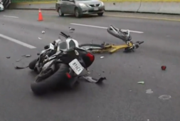 Ciclista muere atropellado por una moto (+video)