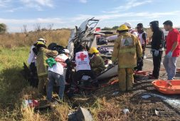 Once personas fallecieron en accidente carretero en Chiapas