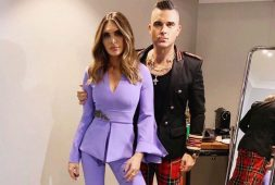 Robbie Williams y Ayda Field presumen a su cuarto hijo con tierno video